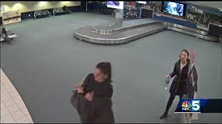 Police: 2 women steal life-size cardboard cutout from Burlington International Airport
