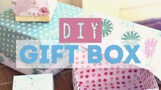 Diy ♥ Gift Box