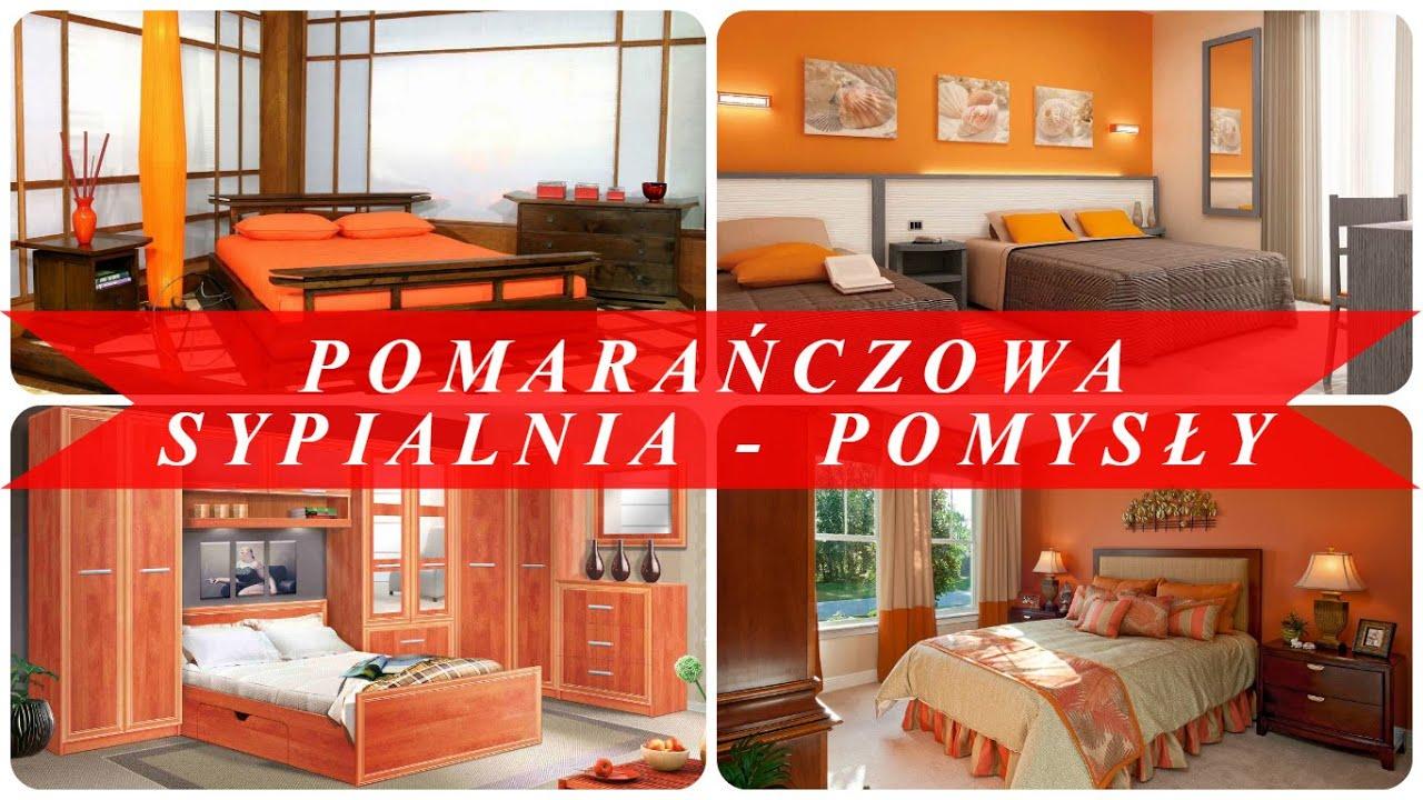 Pomarańczowa Sypialnia Pomysły