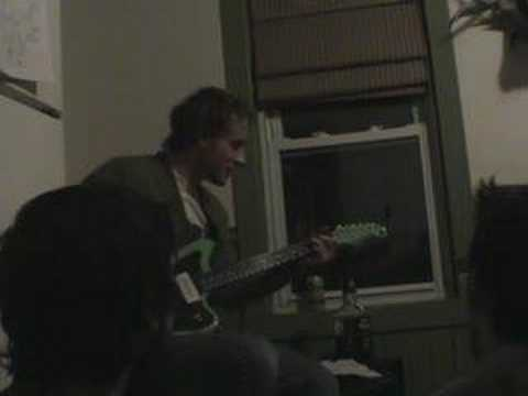 Deer Tick playing Ashamed in a kitchen in Providence