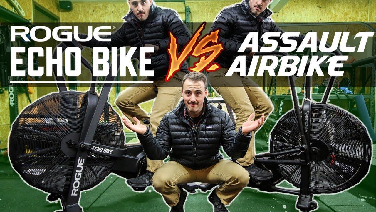 Assault Airbike Vs Rogue Echo Bike Youtube