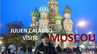 Julien Calabro visite Moscou !