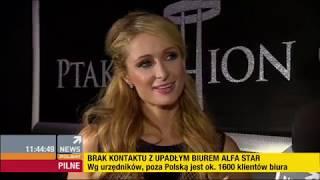 Paris Hilton Polish Interview 2014