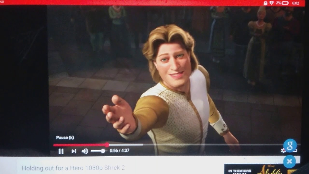 Shrek 2 Princess Fiona And Prince Charming Dancing Youtube
