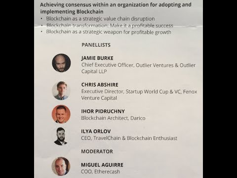 World Blockchain Summit 2017, Dubai