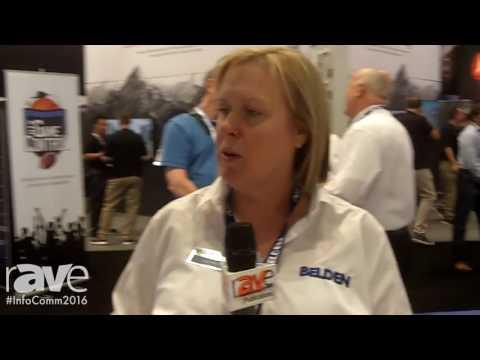 InfoComm 2016: Belden Inc-Grass Valley USA-LLC Highlights HDBaseT Cable