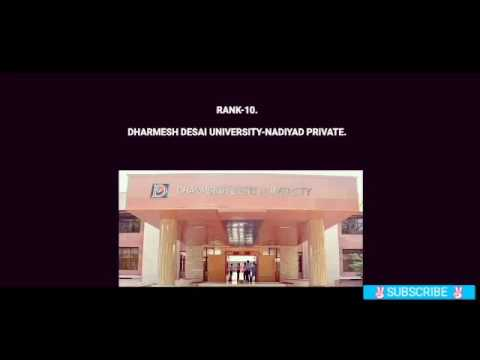 Top 10 engineering college in Gujarat 2017.