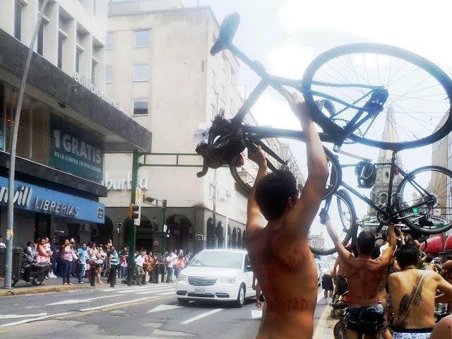 WNBR Guadalajara 2014   World Naked Bike Ride