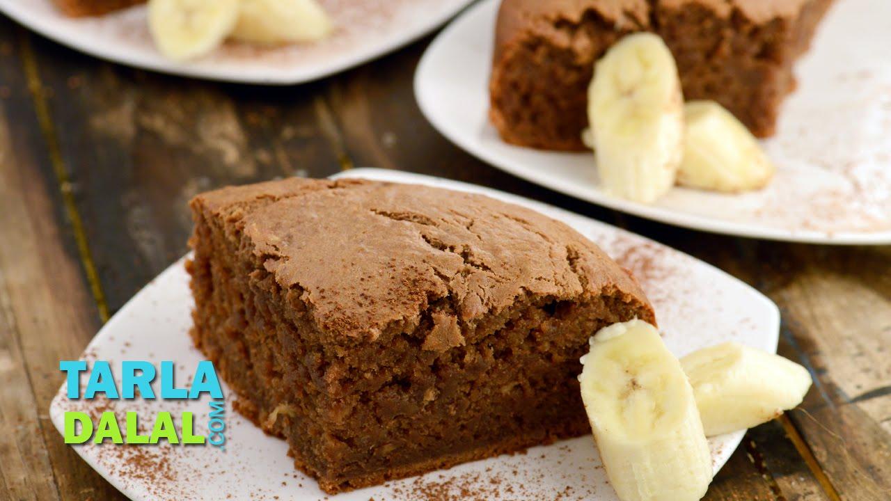 Banana Cake By Tarla Dalal