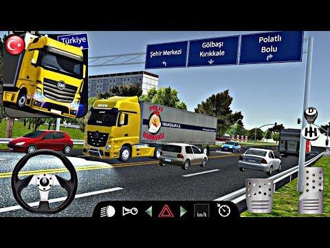 Türkiye Yollarındayız! Cargo Simulator 2019 Türkiye Yeni Mobil Oyun