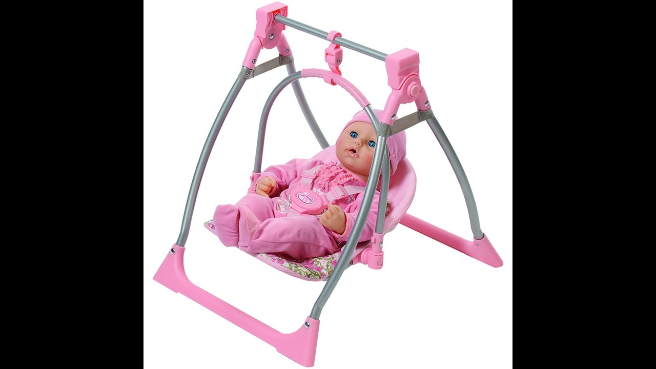 New Baby Doll With Swing Review Toys