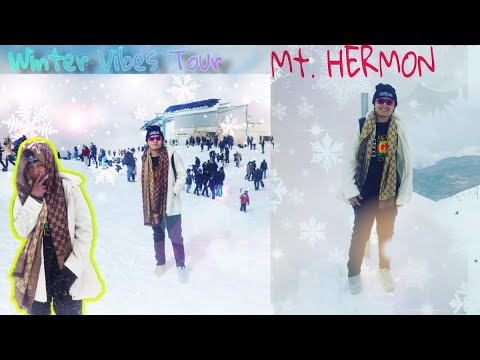 Winter Vibes Tour At Mt.Hermon, Northern Israel #Israel #snow