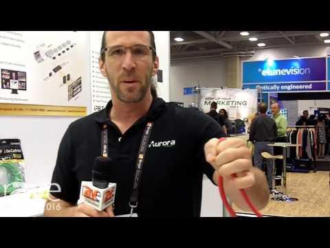 CEDIA 2016: Aurora Presents HDMI 2.0a Cables