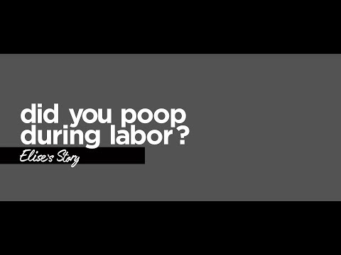 Did you poop during labor?