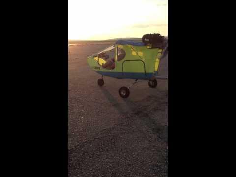 CGS Hawk Ultralight Taxi testing
