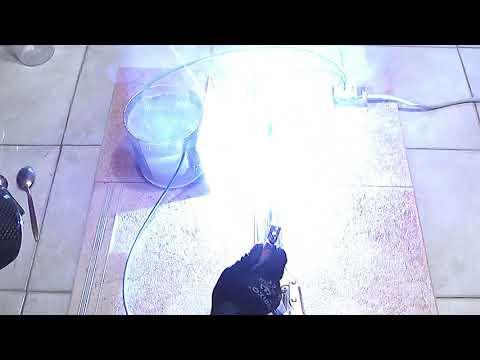 230V Salt Water Electric Welding Machine Homemade, Easy To Do