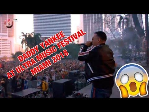 Steve Aoki & Daddy Yankee - Ultra Music Festival 2018
