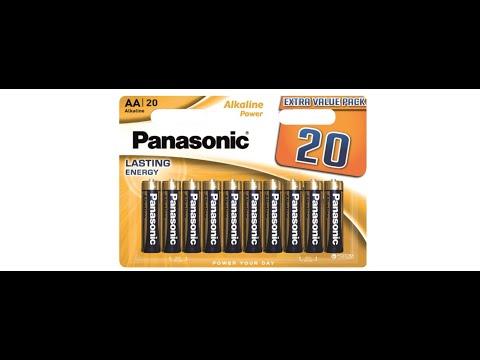 Батарейки Panasonic Alkaline Power щелочные AA блистер, 20 шт (LR6REB/20BW)