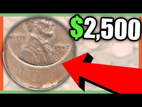 1942 WHEAT PENNIES WORTH MONEY   RARE PENNIES TO LOOK FOR IN YOUR COIN COLLECTION