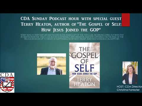 """""""How Jesus Joined the GOP:"""" CDA Podcast with Guest Terry Heaton"""