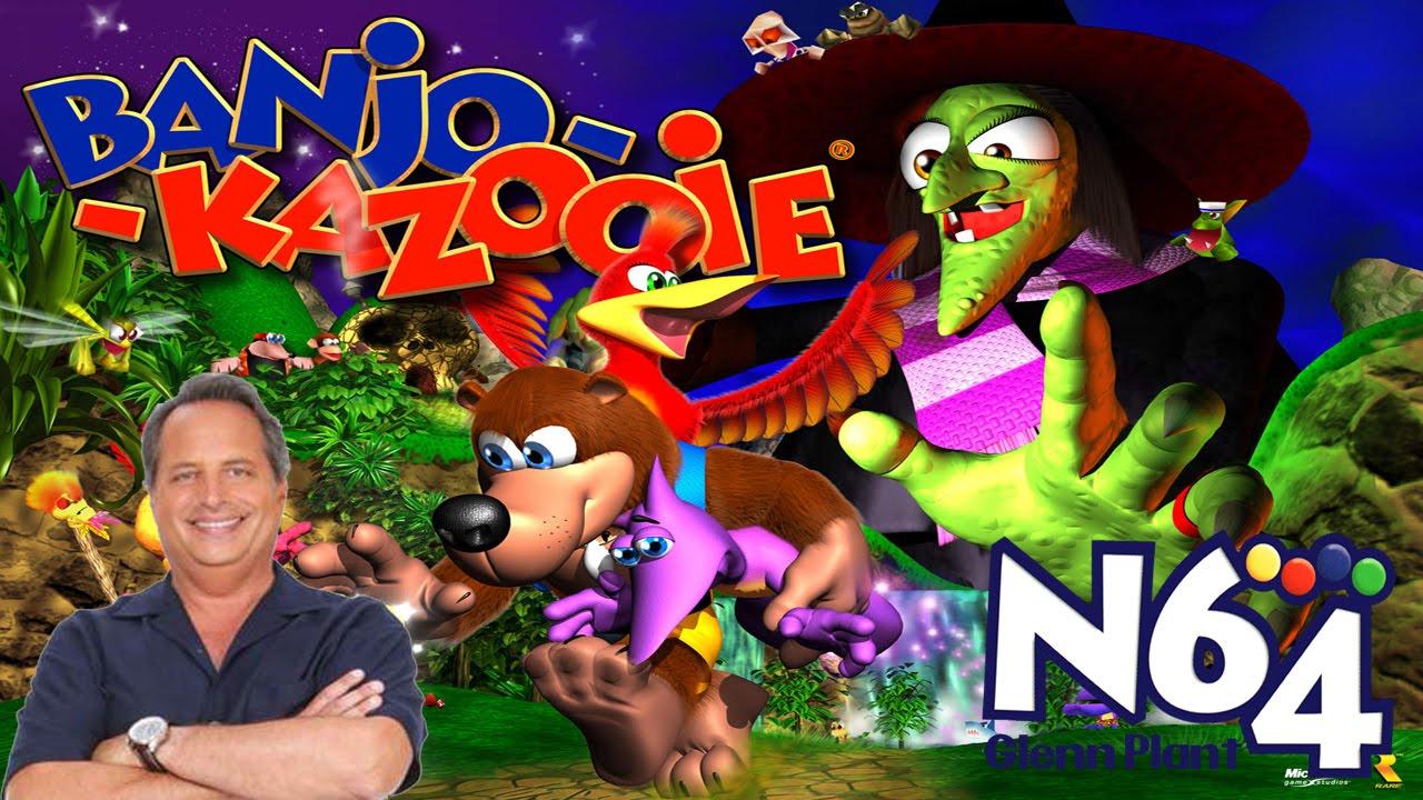 Banjo Kazooie Feat Jon Lovitz - Nintendo 64 Review - HD - YouTube