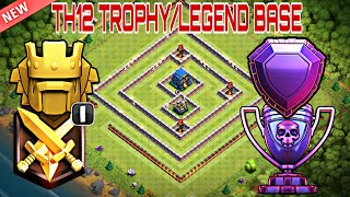 Th12 Trophy/Legend Base 2018 with Replays | Th12 BEST Trophy Base for Legend League - Clash of Clans