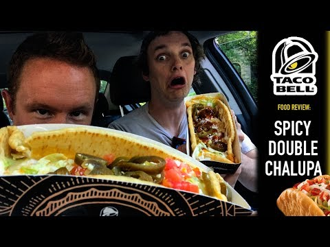 Taco Bell's Spicy Double Chalupa Food Review | Season 4, Episode 17