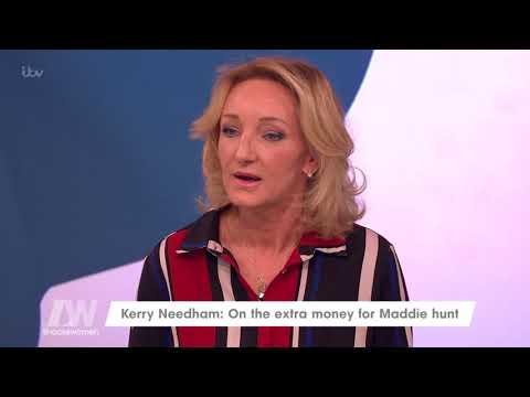 Kerry Needham Wishes She Had Had the Funding Like Madeleine McCann Did   Loose Women