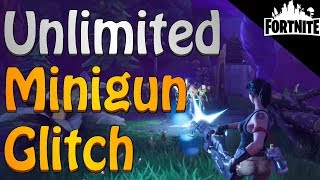 FORTNITE - Unlimited Minigun Ammo Glitch With Soldier Class