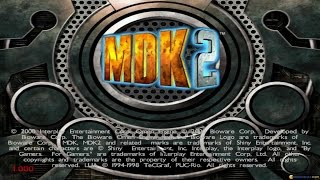 MDK 2 gameplay (PC Game, 2000)