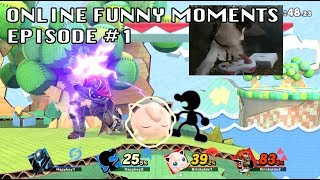 ONLINE FUNNY MOMENTS [Super Smash Bros. Ultimate]