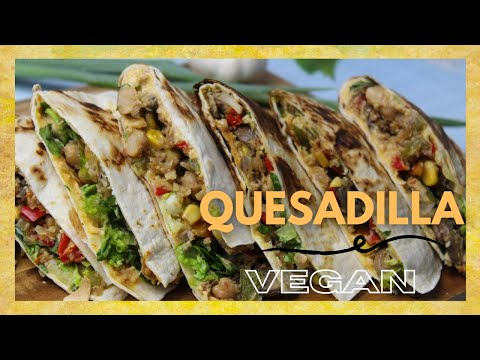 Easy Cheesy Quesadillas | Best Quesadilla Recipe | Quesadilla Recipe WITHOUT OVEN | Vegan Recipes