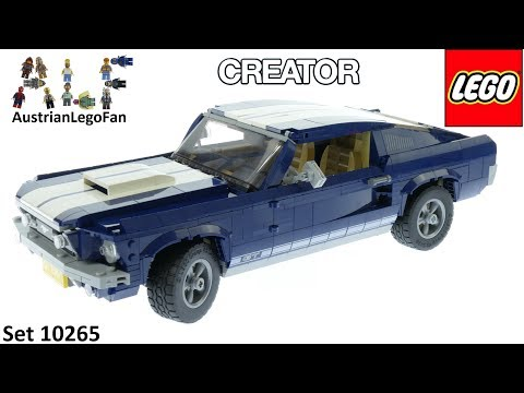 Lego Creator 10265 Ford Mustang Speed Build
