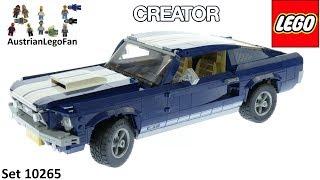 Lego Creator 10265 Ford Mustang Speed Build cмотреть видео онлайн бесплатно в высоком качестве - HDVIDEO