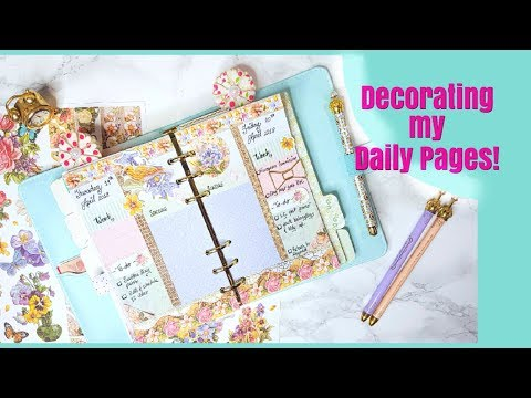 PWM | Decorative Sticker Unboxing and Daily Page Decoration!
