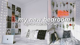 EXTREME BEDROOM MAKEOVER  ROOM TRANSFORMATION 2019 (cozy aesthetic)