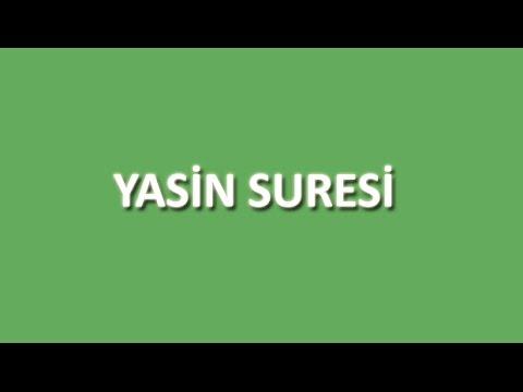 Yasin Suresi Arapça ve Türkçe Oku Dinle İzle - www.oku.gen.tr
