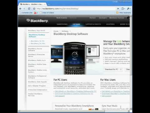 How To Download The Latest Blackberry Device Manager