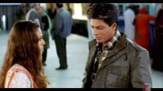 Small part of movie veer zaara