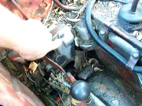 hqdefault david brown hydraulic fix summary youtube International Tractor Wiring Diagram at soozxer.org