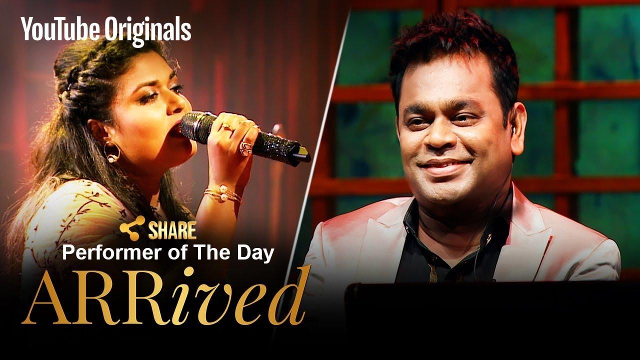 A  R  Rahman | Amrita Talukder | Performer Of The Day