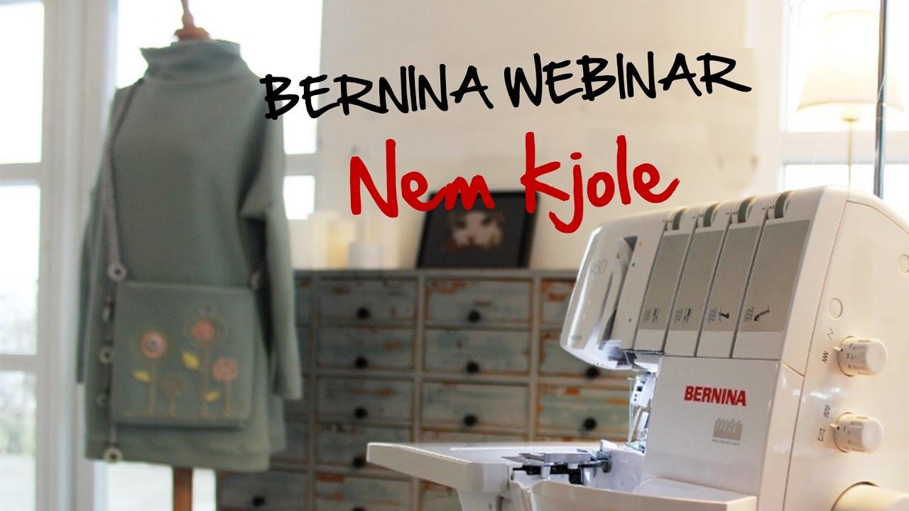 BERNINA Webinar: Lær at sy en nem kjole