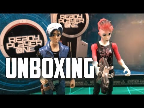 READY PLAYER ONE Funko Action Figure 4 Pack UNBOXING