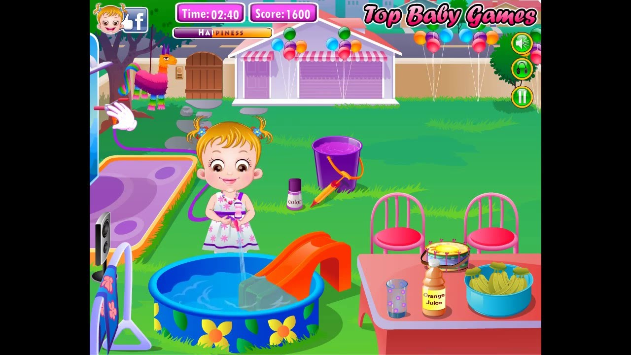 Baby Hazel Games For Kids
