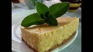 Творожный пирог самый простой рецепт! Творожная запеканка в духовке