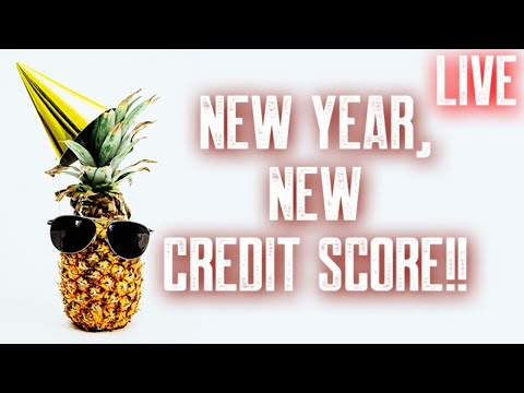 Ananas Credit new year new credit score 40 points in 30 days || tradelines and