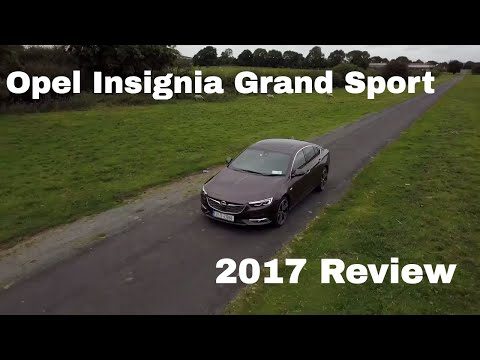 Opel Vauxhall Insignia Grand Sport review 2017