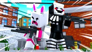 Funtime Foxy And Puppet Fight Off The Criminals (Minecraft Fnaf Roleplay Adventure)