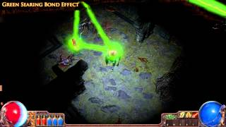 Path of Exile - Green Searing Bond Effect
