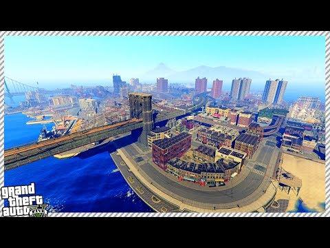 GTA 5 - TRAVELING TO LIBERTY CITY